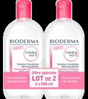 CREALINE TS H2O Solution micellaire sans parfum nettoyante apaisante 2Fl/500ml à Libourne