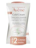 Avène Eau Thermale Cold Cream Duo Crème Mains 2x50ml à Libourne