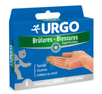 Urgo Brulures-blessures Petit Format X 6 à Libourne