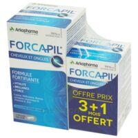 Forcapil Gélules croissance vitalité cheveux ongles B/180+60 à Libourne