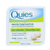 QUIES PROTECTION AUDITIVE CIRE NATURELLE 8 PAIRES à Libourne