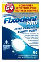 Fixodent Pro Comprimés Nettoyant Fraîcheur Longue Durée Pour Prothèse Dentaire B/54 à Libourne