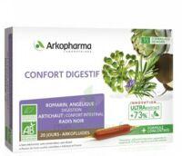 Arkofluide Bio Ultraextract Solution Buvable Confort Digestif 20 Ampoules/10ml à Libourne