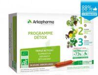 Arkofluide Bio Ultraextract Coffret Programme Détox 3x10 Ampoules/10ml à Libourne