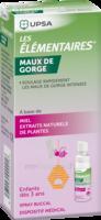 LES ELEMENTAIRES Spray buccal maux de gorge enfant Fl/20ml à Libourne