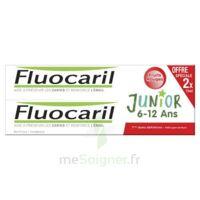 Fluocaril Junior Gel Dentifrice Fruits Rouges 6/12ans 2*75ml à Libourne
