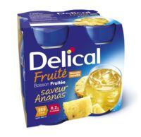DELICAL BOISSON FRUITEE Nutriment ananas 4Bouteilles/200ml à Libourne
