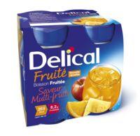 DELICAL BOISSON FRUITEE Nutriment multi fruits 4Bouteilles/200ml à Libourne