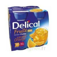 DELICAL BOISSON FRUITEE Nutriment orange 4Bouteilles/200ml à Libourne