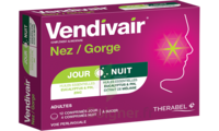 Vendivair Nez/Gorge Comprimés jour et nuit B/12+4 à Libourne