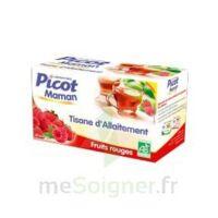 Picot Maman Tisane D'allaitement Fruits Rouges 20 Sachets à Libourne